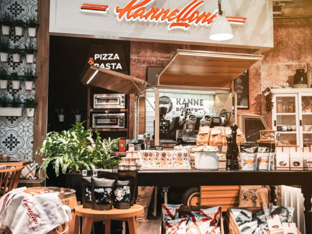 Kannelloni booth in Uetrecht