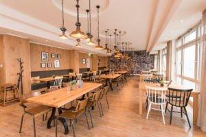 Sitzbereich im Kanne Café in Remscheid