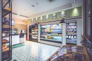 Kühlschränke im Kannelloni Fresh Shop in der Medizinischen Hochschule Hannover