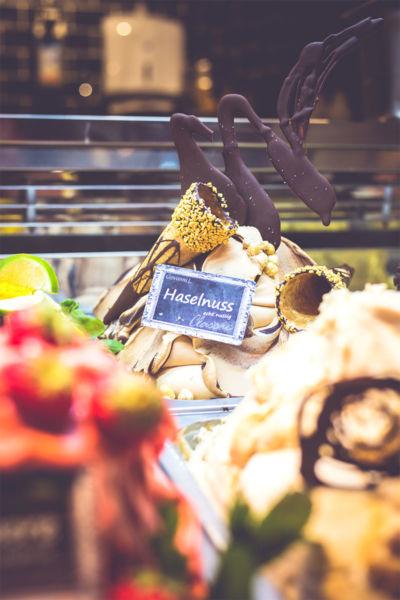 Haselnusseis von Giovanni L. im Kannelloni Food Market in der Medizinischen Hochschule Hannover