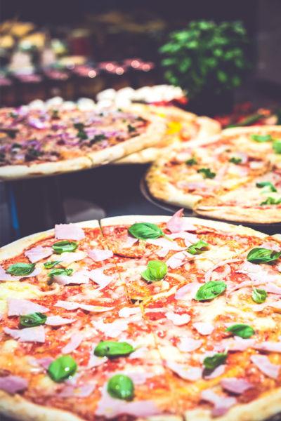 Pizza im Thresen Kannelloni Food Market in der Medizinischen Hochschule Hannover