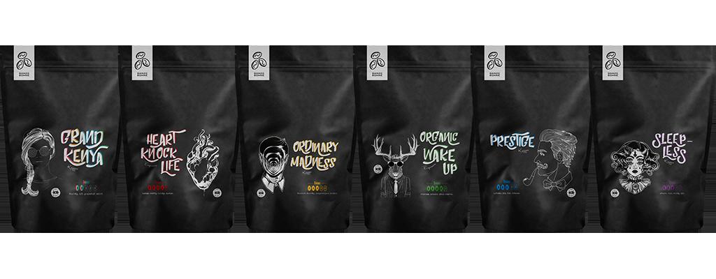 Kanne Rösterei coffee varieties