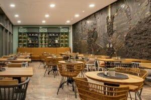 Sitzbereich im Kanne Café in Eschweiler